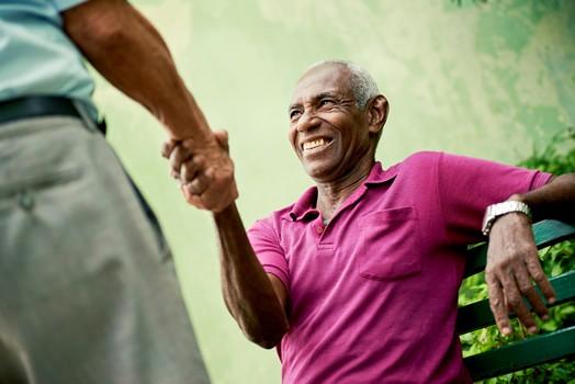 African American Elder in Northern Virginia