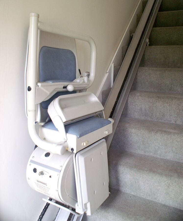Home Health Care in Manassas City VA: Stairlift Considerations