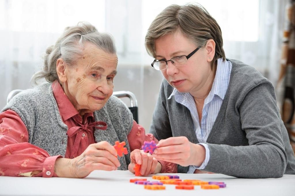 Home Care in Loudoun County VA: Games With Seniors